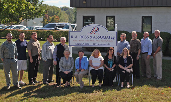 The R. A. Ross and Associates team with a combined 150 years of experience.